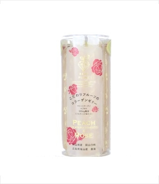 フルーツコラーゲンゼリー 岡山白桃&福山薔薇